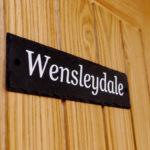 Wensleydale Nameplate